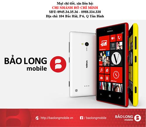 Nên làm gì khi mặt kính Smartphone Nokia Lumia 720 của người sử dụng bị hỏng