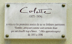 Photo of Colette marble plaque