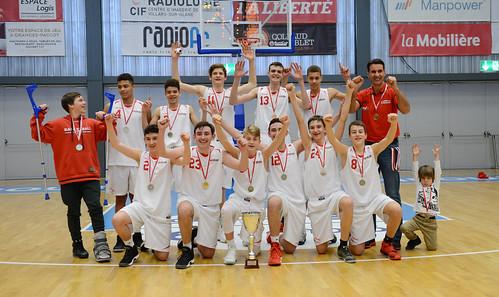 Grande Finale Fribourg Académie U16m -  Swiss Central Basket 54