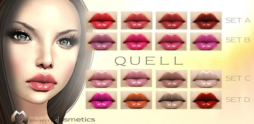 Quell-lipstick poster by ::Modish::