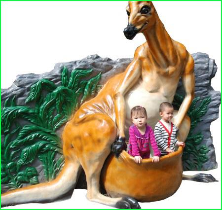 Fiberglass Animal Model
