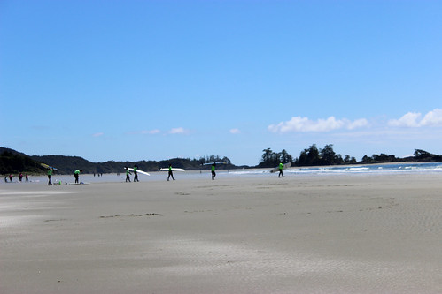 Surfing in Tofino with Samba Days