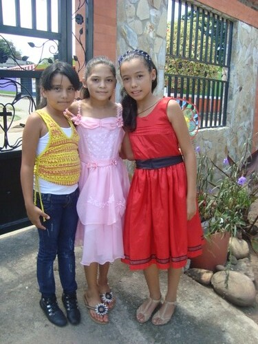 Genesis Marquina, Gianny Vanessa and Oriana Montoya