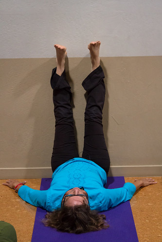 Legs Up The Wall (Viparita Karani)
