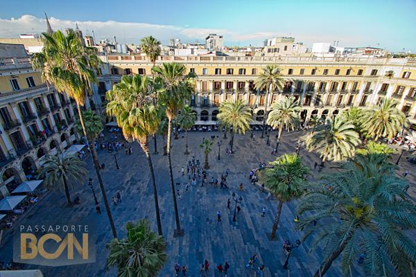 Plaça Reial, Barri Gòtic, Barcelona