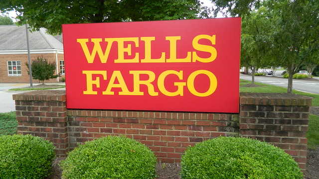 wells fargo sign flickr photo sharing. Black Bedroom Furniture Sets. Home Design Ideas