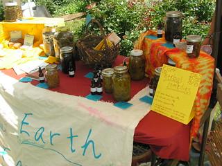 quincy herb fair booth