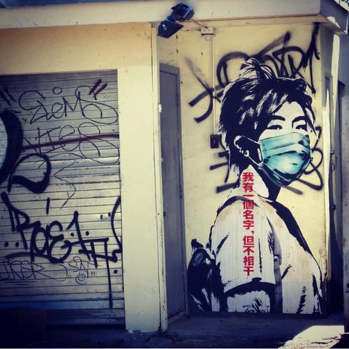 #eddiecolla #bikegirl #paster #wheatpaste by *eddie