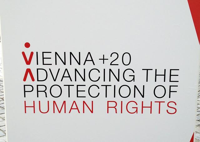 """Plakat zu """"Vienna+20"""""""
