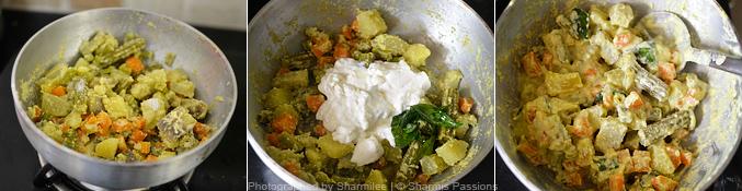 Kerala Aviyal Recipe - Step3