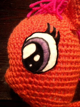 Free Crochet Pattern For My Little Pony Eyes : Crochet My Little Pony - Eyes Flickr - Photo Sharing!