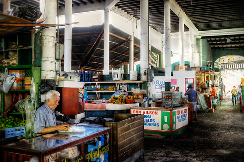 The Market in Honda by szeke