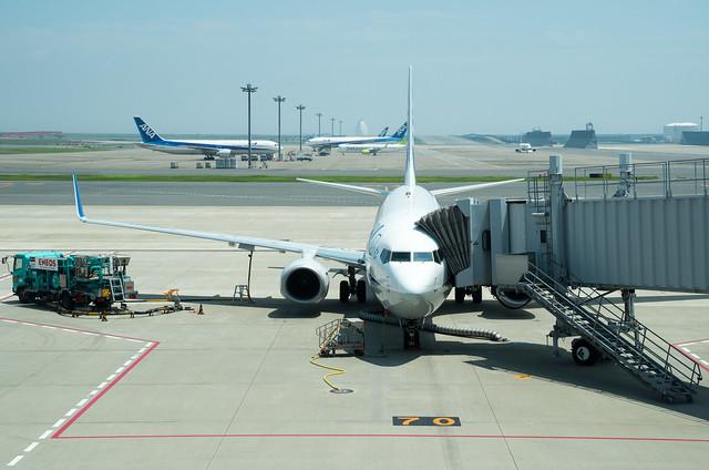 東京国際空港 搭乗便 ANA NH573