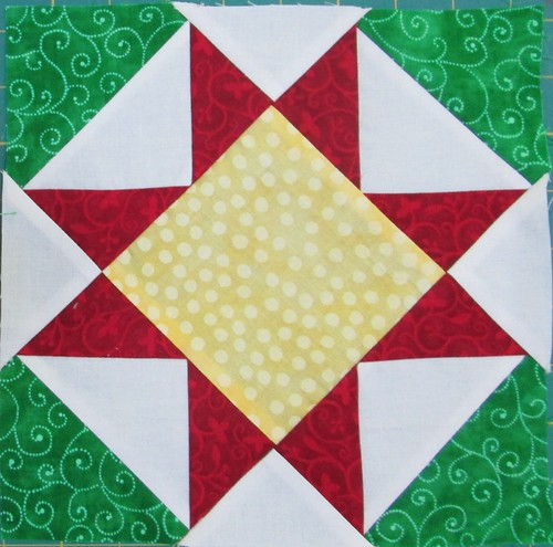 Jingle Pieced Block 5