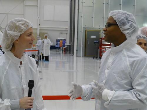 Emily Lakdawalla interviewing Shawn Goodman, SMAP Project System Engineer
