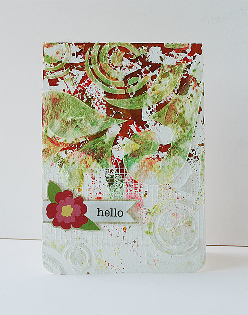 Mixed-media-hello-card