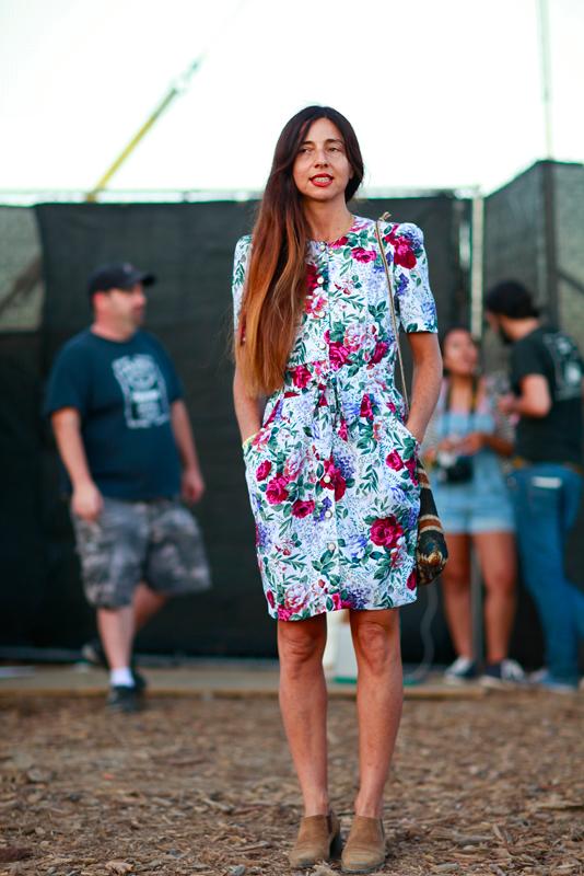 Paz_fyf FYF Fest, L.A. State Historic Park, LA, women, street style, street fashion, music,