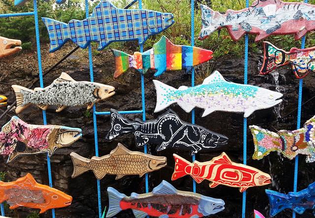 yukon canada fish art