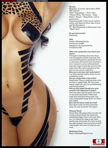 Brittany Dailey  Blackmen Magazine pics
