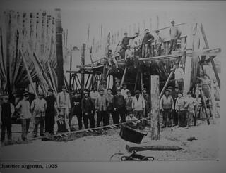 Fécamp: chantier Argentin