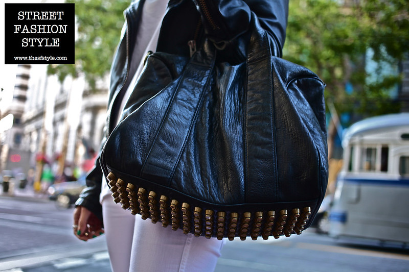 san francisco fashion blog, street fashion style, alexander wang studded bag, streetstyle,