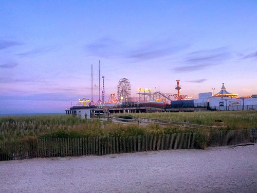 Steel Pier in AC, NJ