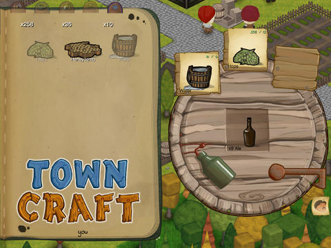 TownCraft - Brewing some Beer