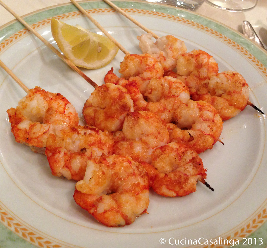Caminetto Scampi