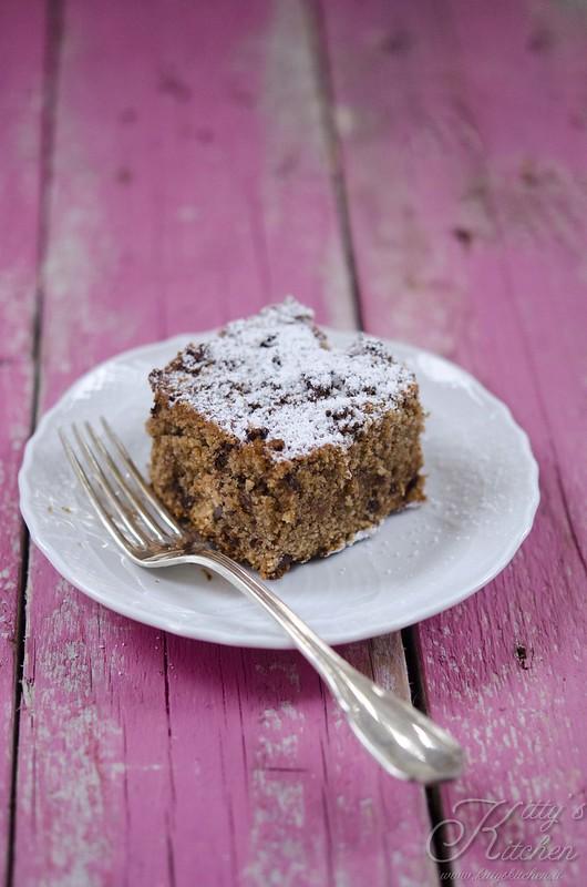 torta al pane raffermo e cioccolato