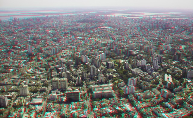3D photograph of Porto Alegre, RS