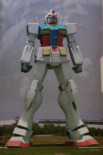 Master Archive Mobilesuit - Earth Ferderation Force RX-78 GUNDAM - 8