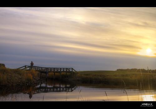 bridge sunset canon suomi finland landscape maisema joensuu auringonlasku silta noljakka valokuvaus aavaranta