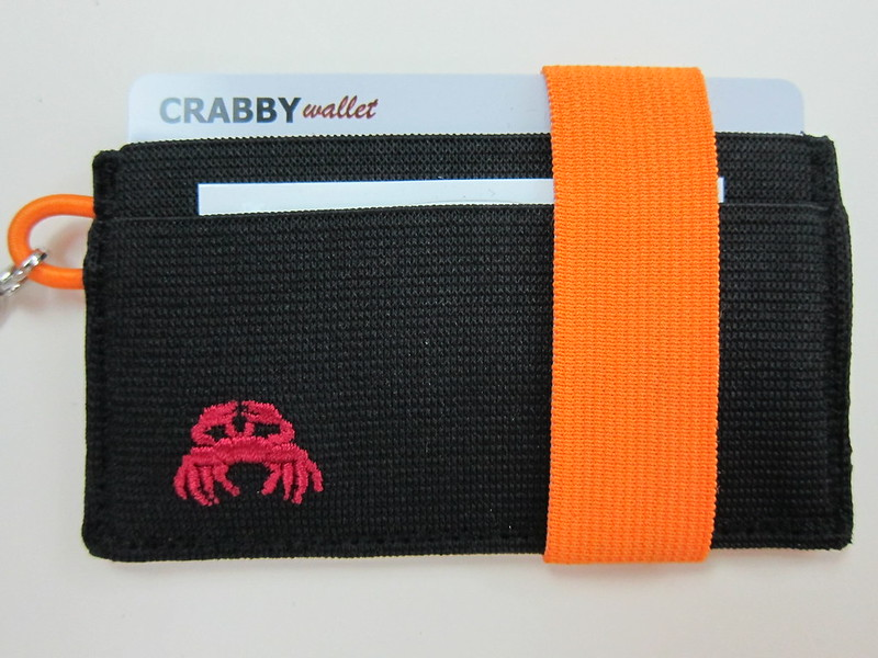 Crabby Wallet - Orange