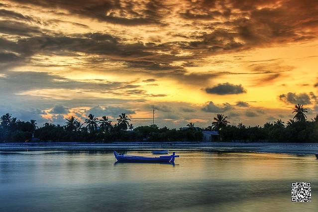 No ordinary sunset!