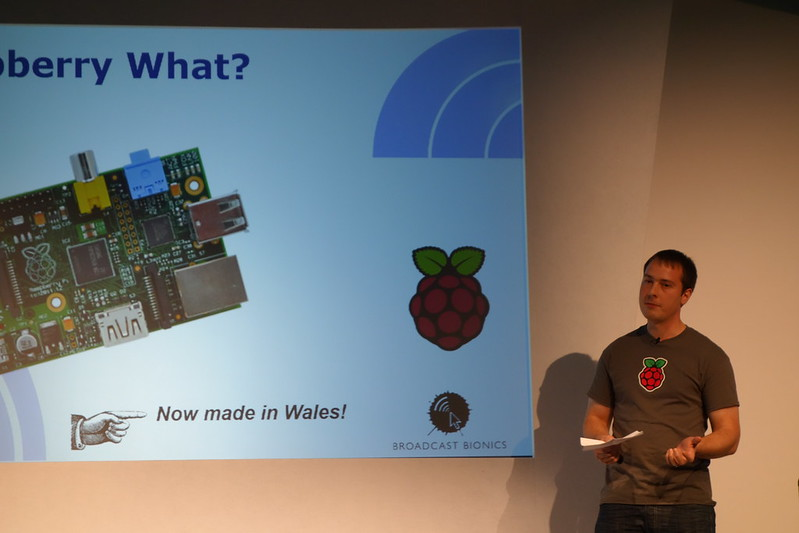 James Adams and the Raspberry Pi