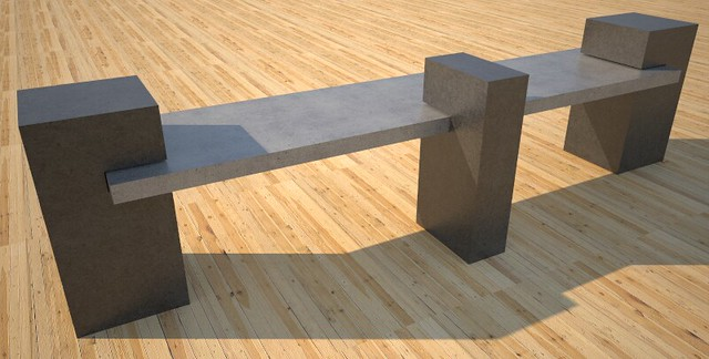 Custom Concrete Benches For Sale Concept Design And Production By Flickr