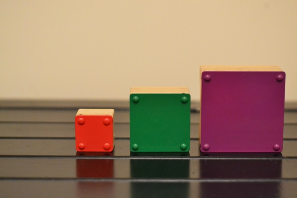 coloured squares xylophone