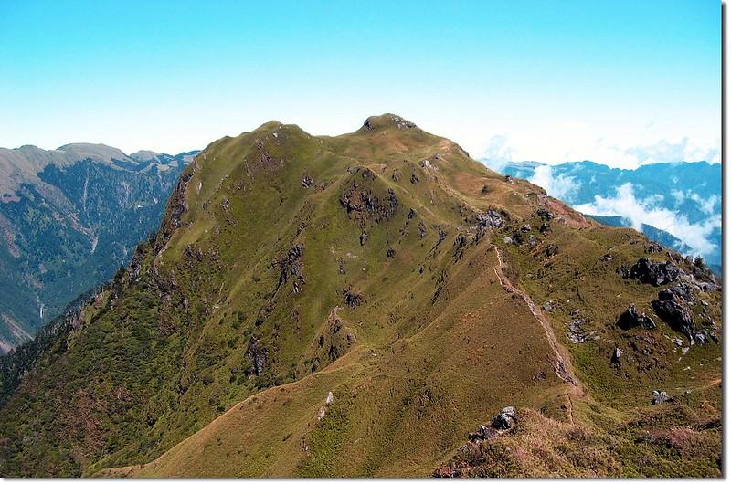 卡賀爾山(南向北望) 2