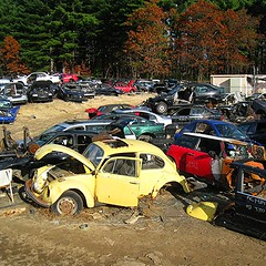 The world 39 s best photos of beetle and parts flickr hive mind for Mercedes benz scrap yard