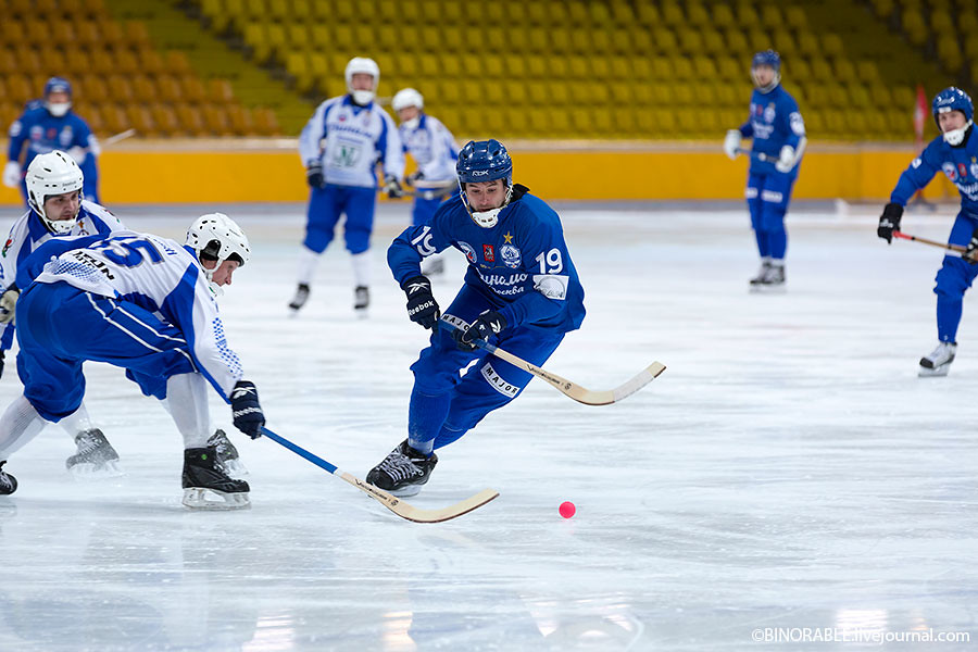 Чемпионат России по хоккею с мячем Динамо (Москва) - Динамо (Казань) ©binorable.livejournal.com