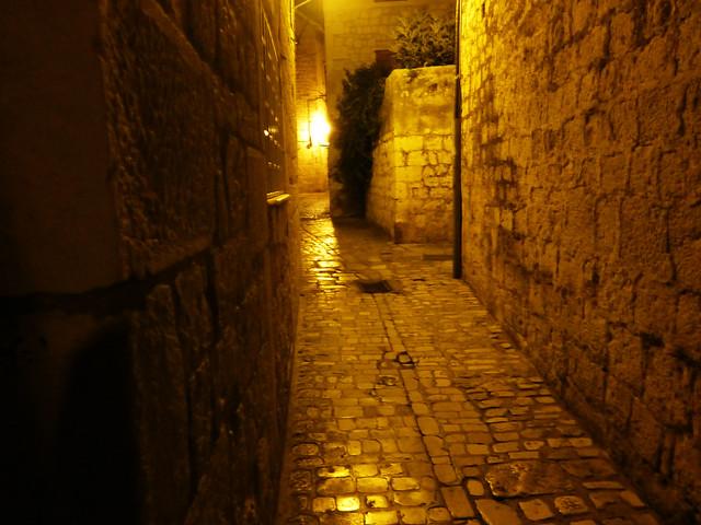 Golden twilight in Trogir, Croatia