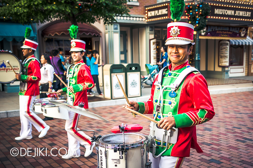 HKDL - Main Street USA Christmas Town - Main Street Band, Legacy CM