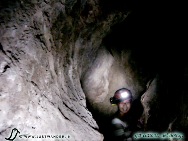 PIC: Colossal Cave Ladder Tour - cave dark and the unknown