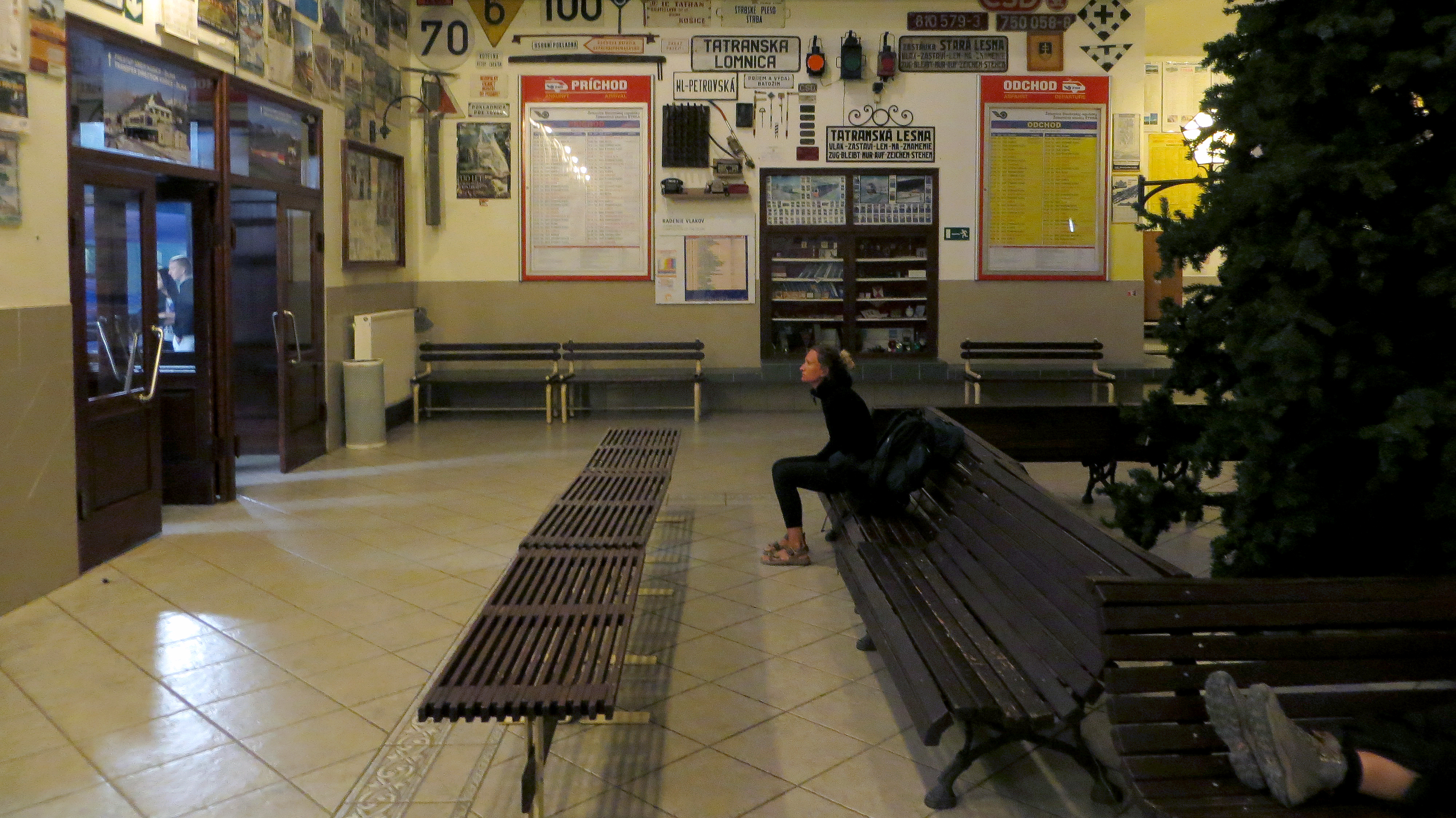 Trainstationspotting - Štrba train station, Slovakia, 2013