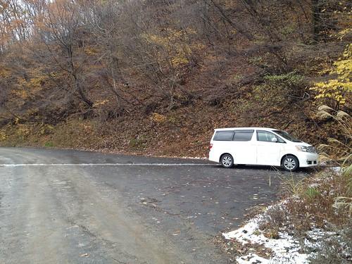 虎子山 駐車場