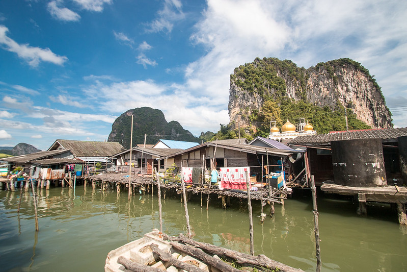 Ao Phang Nga National Park - Koh Panyi - Floating Fishermans Village