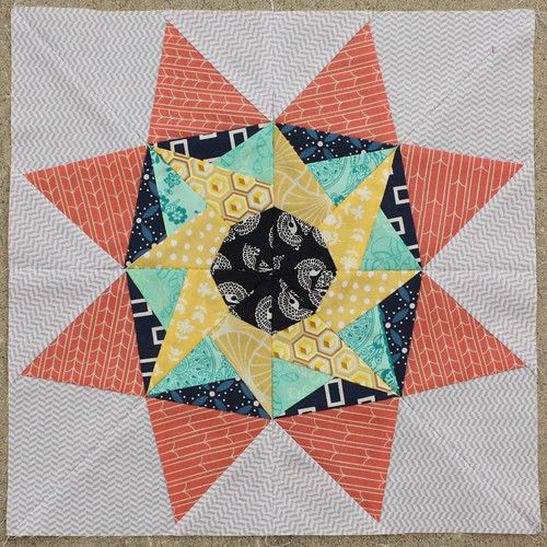 December 2013 Lucky Stars Block of the Month: The Encore Star