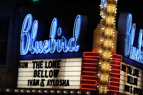Lone marquee