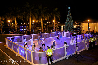 Synthetic ice rink in Guayaquil, Ecuador