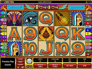 Isis Slot Machine